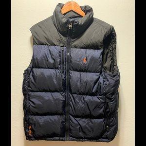 Polo puffer vest XL